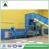 Automatische hydraulische Schrott-Papier-Ballenpresse, die Maschine aufbereitet