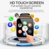 Newest&FashionデジタルかSIMカードスロットX6が付いているBluetoothの手首のスマートな腕時計