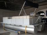 20ft de remo de alta calidad de Aluminio botes de pontón inflable más vendidos