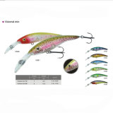 Hard Wood Wobbler Fishing Lure Minnow Fishing Lure