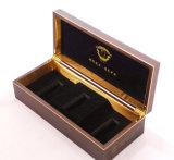 Caja de almacenamiento de madera, la moneda Caja de regalo, caja de joyería, paquete de la caja del reloj (YS96)