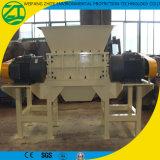 Desfibradora de dos ejes para el reciclaje médico de la basura/del plástico/del neumático/de madera/del metal