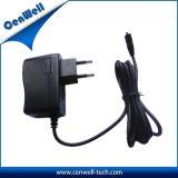 Monté sur un mur 12V1A AC adaptateur d'alimentation CC avec CE RoHS FCC