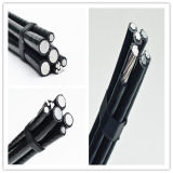 Bajo conductor de aluminio de arriba estándar del cable XLPE Insualted del ABC de la tensión ASTM