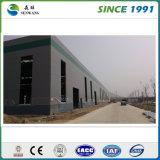 Edificio prefabricado del taller del almacén de la estructura de acero para la venta