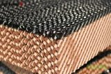 Almofada de resfriamento evaporativo para pente de mel de alta eficiência para ventilação de casas verdes