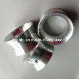 Torno de alumínio peças giradas