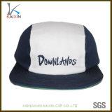 カスタム平らな縁プリントロゴ3のパネルの急な回復の帽子の帽子