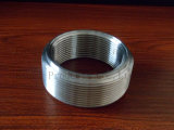 Raccord fileté de l'ajustage de précision de pipe d'acier inoxydable 316L usiné à l'intérieur de la pipe