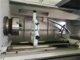 Ck6150 com alimentador da barra e torno do metal do CNC do controlador de Siemens