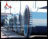 Kraftübertragung-Zeilen-Monopole und Stahlpolen