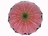 طبقات مزدوجة يدوي المطر مستقيم مظلة الغولف مظلة (SU025-1)