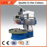 Precio de torneado vertical de la máquina del torno del metal del CNC de la sola precisión de la columna