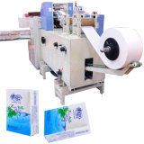 Rostro un pañuelo de papel de la máquina de embalaje