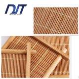 Couvre-tapis en bambou pur fabriqué à la main direct de cuvette de thé de Healty d'usine