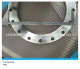 Flange de placa do aço inoxidável de En1092-1 Type01 Dn400 F316L