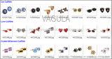 Cufflink van de Ontwerper van vagula- Manchetknopen (Hlk31607)