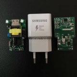 새로운 전화 Samsung S8를 위한 빠른 벽 USB 충전기