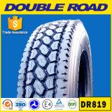 A estrada do dobro da estrela dobro marca o pneu, pneumático radial do caminhão 11r22.5