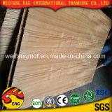 E1/E0 2,7Mm -18mm compensado de madeira de Teca Natural de mobiliário