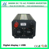 を離れて格子3000W DC24V AC220Vコンバーター力インバーター(QW-M3000)