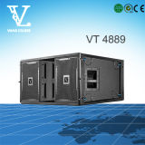 Vt4889 grosse Größen-Dreiwegezeile Reihen-Audiosystem des Doppelt-15 ''