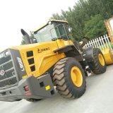 Carregador LG956L da roda de Shandong Lingong 5t para a mineração, a rocha ou o carvão