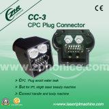 Accessorio della macchina di IPL dei pezzi di ricambio di IPL del connettore della spina di Cc-3 CPC