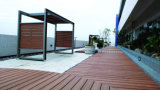 Eco-Friendly Wood Plastic Composed WPC Garden Decking Flooring