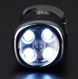 5 LED Herramienta de emergencia alquiler de linterna con 8 herramientas y el disyuntor de la ventana