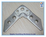 Support d'angle en acier inoxydable pour système de montage au sol