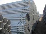 Tubo de acero galvanizado BS1387 de acero del tubo de carbón de la INMERSIÓN caliente