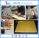 Panel del techo de PVC de la máquina extrusora de plástico, máquina de extrusión de techo de PVC