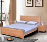 Solid Wooden Bed Modern Doubles Beds Popular Bed (M-X2356)
