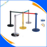 Belt Stanchion Strap Barrier Crowd Control Pole Warteschlange Stand