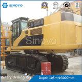TR400D'engin de forage rotatif hydraulique pour la construction de fondation