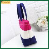 Handtassen van de Zak van het Canvas van de Vrouw van de Zakken van de Meisjes van 100% de Organische Ontwerpen Behandelde