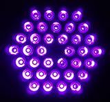свет РАВЕНСТВА 36*3W UV (пурпурового) СИД (черный свет)