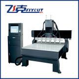 China Fábrica fusos múltiplos máquina de esculpir madeira CNC