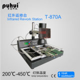 Puhui T-870A Infrarot-BGA Überarbeitungs-Station, BGA Reballing Reparatur-Tool-Kit, SMD-Rework-Station, Lötstation