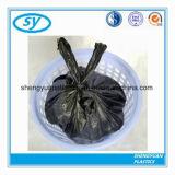 Bolsos de basura plásticos resistentes con la maneta