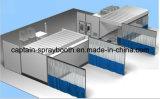 3 in 1 zona del preparato, stanza mescolantesi, cabina di spruzzo industriale