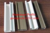 Profil en aluminium en aluminium d'aluminium de profil d'extrusion de matériau de construction de Customed