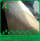 Peau en bois de porte de moulage du placage HDF de qualité