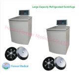 Médicos del laboratorio de gran capacidad de baja velocidad centrífuga refrigerada