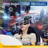 macchina dinamica del gioco del parco di divertimenti di realtà virtuale del cinematografo 9d