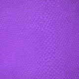 Couro Textured do plutônio, couro liso sintético do saco, couro decorativo gravado