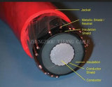Na2xs (F) 2y Câble isolé XLPE monocommande avec gaine PE Longitudinally Water Herght 18 / 30kv