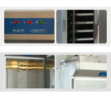 Provedores de rack roll-in de construção durável para provar o processo de produtos de padaria e pastelaria