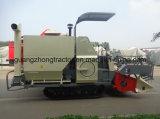 米およびムギのコンバイン収穫機